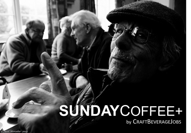 sunday coffee old man