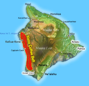 Kona Coffee Belt
