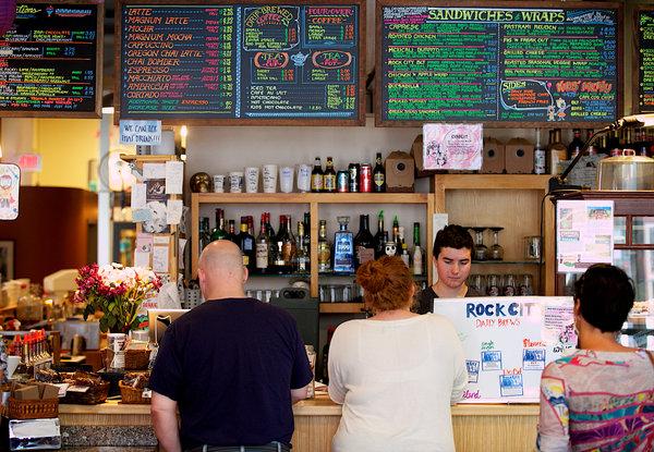 Rock City Coffee Roasters (Brian Patrick Feulner/New York Times)