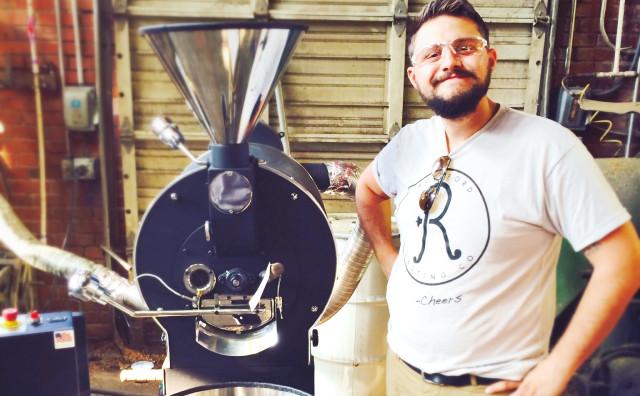 Ben Chauvin, Rockford Coffee Roasting Co.