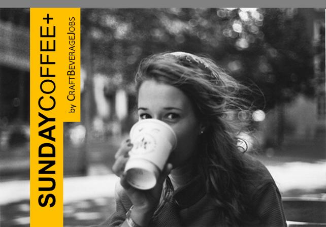 sunday coffee girl coffee cup