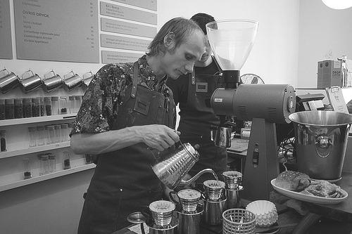 sunday coffee barista