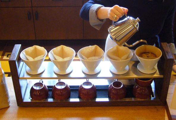 Photo credit: NY Times - Coffee Bar at Maialino