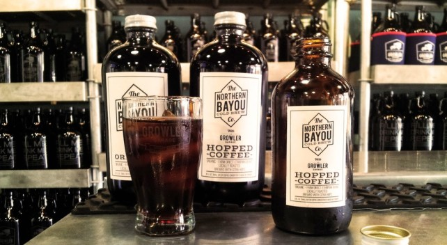 northern bayou hopped cold brew coffee