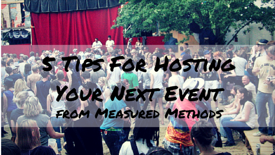 Tips for planning an Event (1)