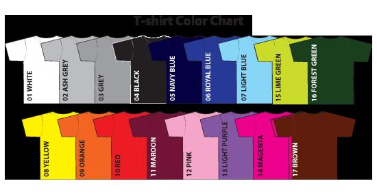 t-shirt-color-chart