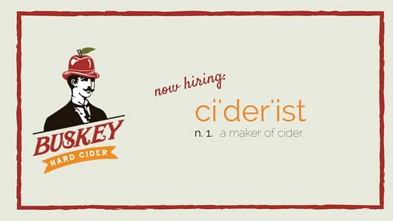 busky cider job