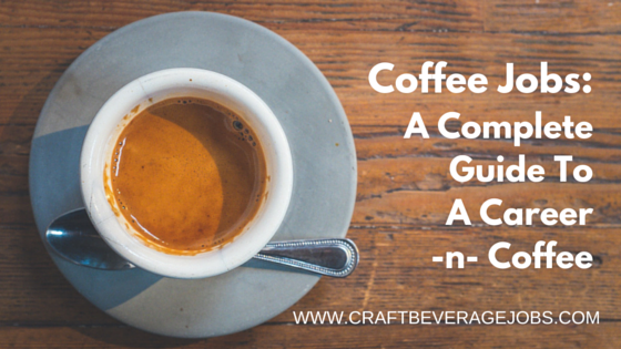 Coffee jobs: A complete guide to a Career in Coffee