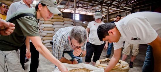 Richard Clermont, Green Coffee Buyer with Keurig Canada ( photo credit: KeurigGreenMountain.com )