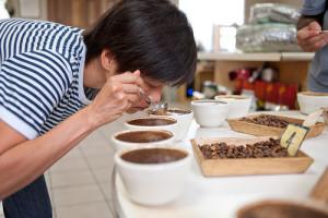 coffee cupper