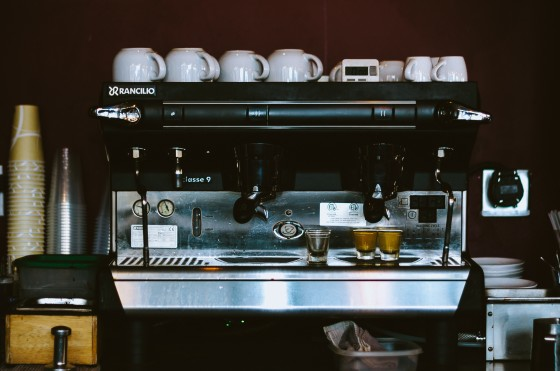mech tech coffee machine photo, free use